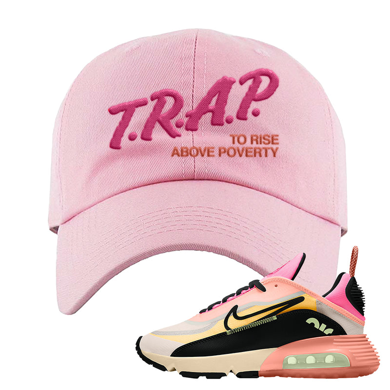 Air Max 2090 WMNS Neon Highlighter Dad Hat | Light Pink, Trap To Rise Above Poverty