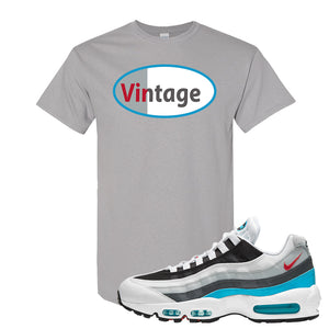 Air Max 95 Red Carpet T Shirt | Vintage Oval, Gravel
