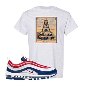 Air Max 97 USA T Shirt | Ash, Capitalism Pyramid