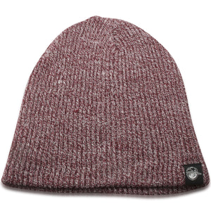 Neff Maroon/White Heather Youth Sized Winter Knit Beanie