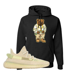 Yeezy Boost 350 V2 Flax Hoodie | Black, Sweater Bear