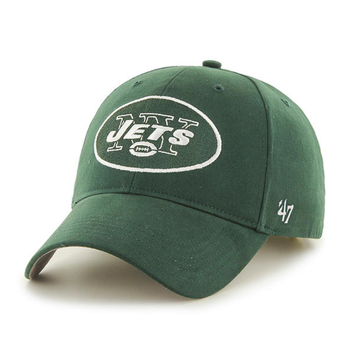 New York Jets Dark Green Youth Sized Adjustable '47 Brand Adjustable Baseball Cap