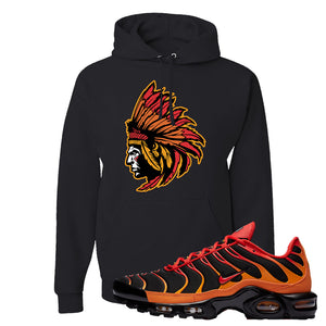 Air Max Plus Volcano Pullover Hoodie | Indian Chief, Black