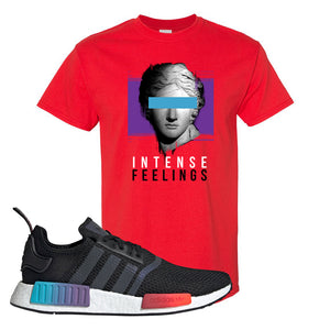 NMD R1 Gradient T Shirt | Red, Intense Feelings