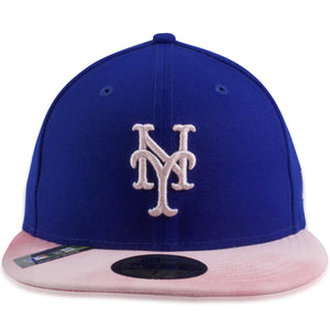 New York Mets 2019 Mother's Day Blue on Pink 59Fifty Fitted Cap