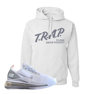Air Max 720 Utility White Hoodie | White, Trap To Rise Above Poverty