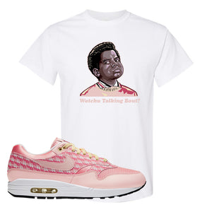 Air Max 1 Strawberry Lemonade T-Shirt | Watchu Talkin Bout, White