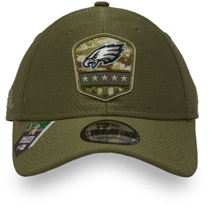 font ofEagles military dad hat | Philadelphia Eagles 2019 salute to service 9twenty dad hat