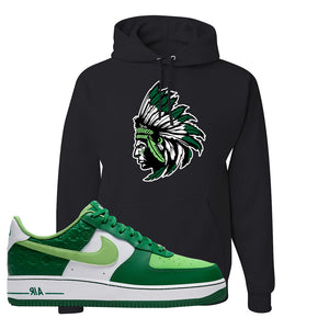 Air Force 1 Low St. Patrick's Day 2021 Hoodie | Indian Chief, Black