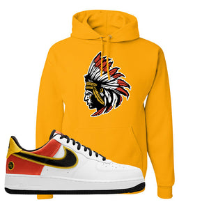 Air Force 1 Low Roswell Rayguns Hoodie | Indian Chief, Gold