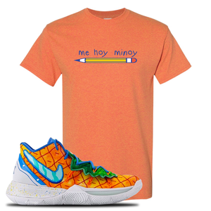 Kyrie 5 Pineapple House Mi Hoy Minoy Sunset Sneaker Hook Up T-Shirt