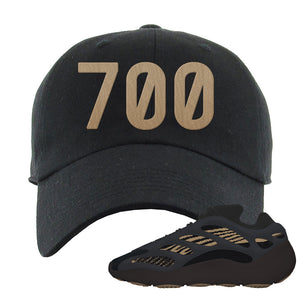 Yeezy 700 v3 Eremial Dad Hat | 700, Black