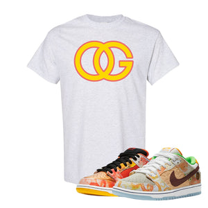 SB Dunk Low Street Hawker T Shirt | OG, Ash