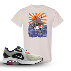 Air Max 200 WMNS Fossil Sneaker Natural T Shirt | Tees to match Nike Air Max 200 WMNS Fossil Shoes | Ramen Monster