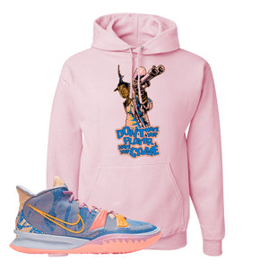 Kyrie 7 Expressions Hoodie | Dont Hate The Playa, Light Pink