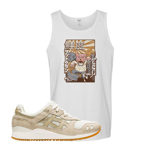 GEL-Lyte III 'Monozukuri Pack' Tank Top | White, Attack Of The Bear