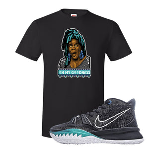 Kyrie 7 Pre Heat T-Shirt | Oh My Goodness, Black