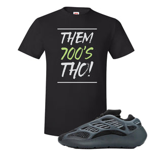 Yeezy 700 V3 Alvah T Shirt | Black, Them 700's Tho!