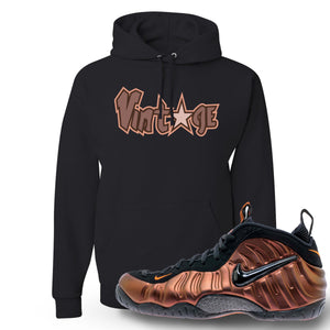 Foamposite Pro Hyper Crimson Sneaker Hook Up Vintage Star Black Hoodie