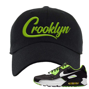 Air Max 90 Exeter Edition Black Dad Hat | Crooklyn, Black