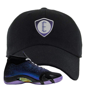 Jordan 14 Doernbecher E Shield Black Sneaker Hook Up Dad Hat