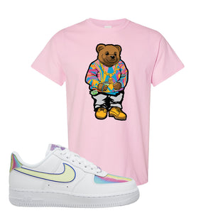 Air Force 1 Low Easter T Shirt | Light Pink, Sweater Bunny