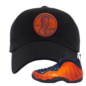 Foamposite One OKC Dad Hat | Black, Penny
