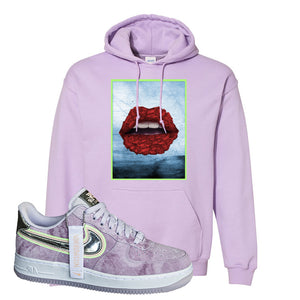 Air Force 1 P[her]spective Hoodie | Orchid, Rose Lips
