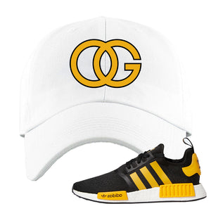 NMD R1 Active Gold Dad Hat | White, OG