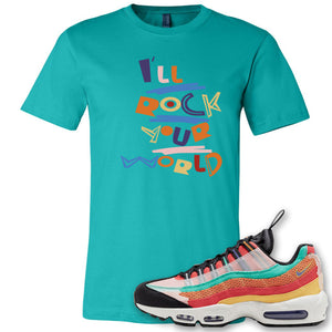 Air Max 95 Black History Month Sneaker Antique Jade Dome T Shirt | Tees to match Nike Air Max 95 Black History Month Shoes | I'll Rock Your World
