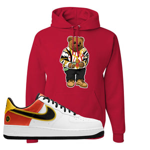 Air Force 1 Low Roswell Rayguns Hoodie | Sweater Bear, Red
