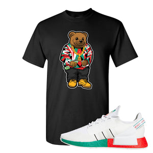 NMD R1 V2 Ciudad De Mexico T Shirt | Black, Sweater Bear