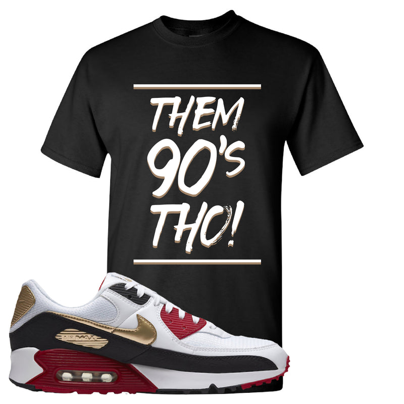 Air Max 90 Chinese New Year T Shirt | Black, Them 90's Tho