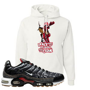 Air Max Plus Remix Pack Hoodie | Don't Hate The Playa, White
