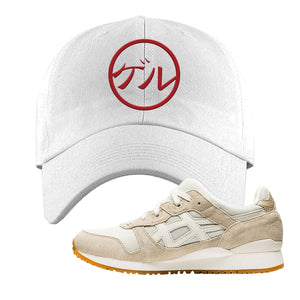 GEL-Lyte III 'Monozukuri Pack' Dad Hat | White, Japanese Circle