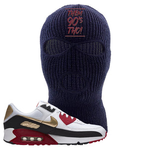 Air Max 90 Chinese New Year Ski Mask | Navy Blue, Them 90's Tho