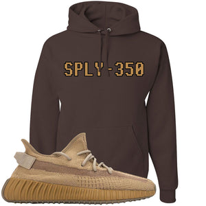 Yeezy Boost 350 V2 Earth Sneaker Hoodie To Match | SPLY-350, Chocolate