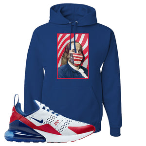 Air Max 270 USA Hoodie | Royal Blue, Franklin Mask