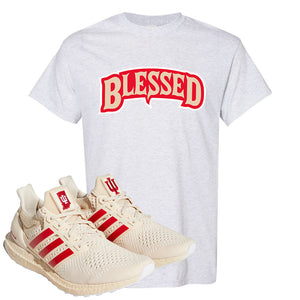 Adidas Ultra Boost 1.0 Indiana T-Shirt | Blessed Arch, Ash