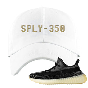 Yeezy Boost 350 v2 Carbon Dad Hat | Sply-350, White
