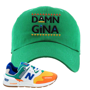 997S Multicolor Sneaker Kelly Dad Hat | Hat to match New Balance 997S Multicolor Shoes | Damn Gina