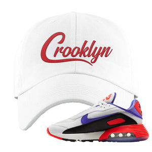 Air Max 2090 Evolution Of Icons Dad Hat | Crooklyn, White