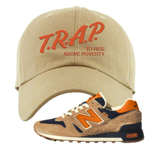 Levi's x New Balance 1300 Dad Hat | Khaki, Trap to Rise