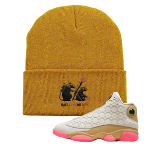 Jordan 13 Chinese New Year Beanie | Timberland, Army Rats