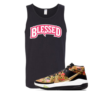 KD 13 Hype Tank Top | Black, Blessed Arch