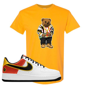 Air Force 1 Low Roswell Rayguns T Shirt | Sweater Bear, Gold