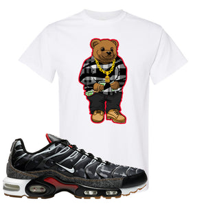 Air Max Plus Remix Pack T Shirt | Sweater Bear, White