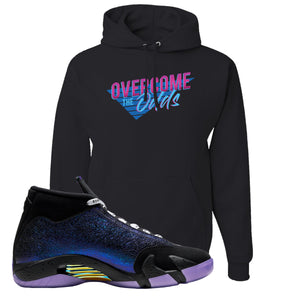 Jordan 14 Doernbecher Hoodie | Black, Overcome The Odds