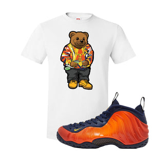 Foamposite One OKC T Shirt | White, Sweater Bear
