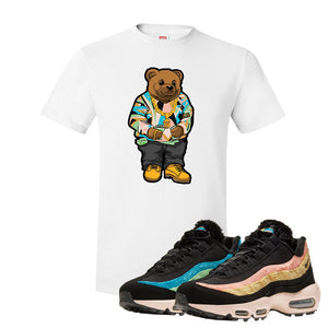 Air Max 95 Sergio Lozano T Shirt | Sweater Bear, White